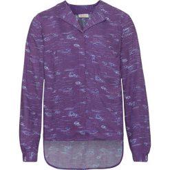 Bluzka z nadrukiem, długi rękaw bonprix lila z nadrukiem. Szare bluzki longsleeves marki bonprix, z nadrukiem. Za 32,99 zł.