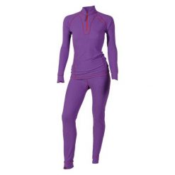 Body i gorsety: VIKING Kombinezon damski Alison (set) fioletowy r. XL (5002770 XL)