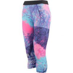 Legginsy damskie 3/4 REEBOK ONE SERIES TREE CAPRI / AY4483. Niebieskie legginsy sportowe damskie marki Reebok. Za 79,00 zł.