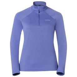 Odlo  Bluza damska Midlayer 1/2 zip Snowbird fioletowa r. XL (222001). Bluzy damskie Odlo, xl. Za 183,43 zł.