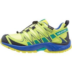 Salomon XA PRO 3D CSWP Obuwie do biegania Szlak acid lime/surf the web/tropical green. Zielone buty do biegania damskie marki Salomon, z gumy. Za 329,00 zł.