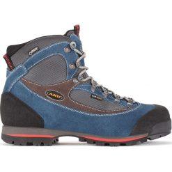 Buty trekkingowe męskie: Aku Buty męskie Trekker Lite II GTX Blue/Grey/Red r. 44.5 (838-319)
