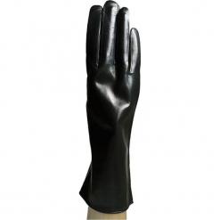 Skórzane rękawiczki w kolorze czarnym. Brązowe rękawiczki damskie marki Roeckl. W wyprzedaży za 219,95 zł.