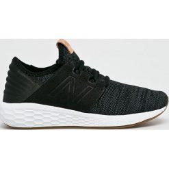 New Balance - Buty WCRUZKB2. Brązowe buty do fitnessu damskie New Balance, z gumy. Za 379,90 zł.