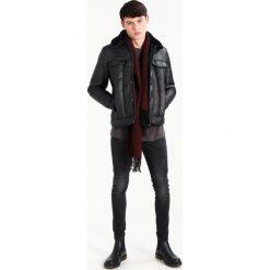 New Look WASHED TWISTED SEAM Jeans Skinny Fit black. Czarne jeansy męskie New Look. Za 129,00 zł.