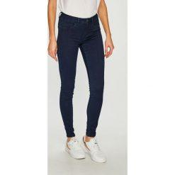 Only - Jeansy. Niebieskie jeansy damskie rurki ONLY, z bawełny. Za 119,90 zł.