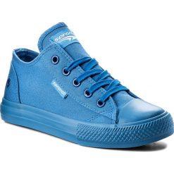 Trampki SPRANDI - CP40-7449 Niebieski. Niebieskie trampki dziewczęce Sprandi, z gumy, na sznurówki. Za 59,99 zł.