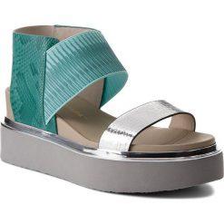 Sandały damskie: Sandały UNITED NUDE – Rico Sandal 10304440106108 Silver/Mint/Ivory