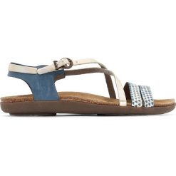 Rzymianki damskie: Skórzane sandały ATOMIUM