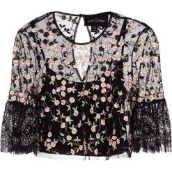 Bluzki asymetryczne: Needle & Thread CLIMBING BLOSSOM TOP Bluzka black