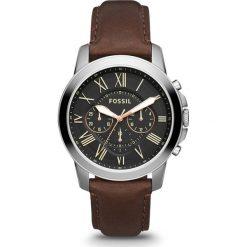 Biżuteria i zegarki damskie: Zegarek FOSSIL - Grant FS4813  Dark Brown/Silver/Steel