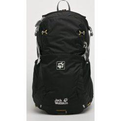Jack Wolfskin - Plecak. Czarne plecaki męskie marki Jack Wolfskin, w paski, z materiału. W wyprzedaży za 319,90 zł.