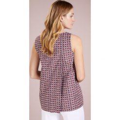 WEEKEND MaxMara UBI Bluzka braun. Brązowe bluzki asymetryczne WEEKEND MaxMara, z bawełny. W wyprzedaży za 419,40 zł.