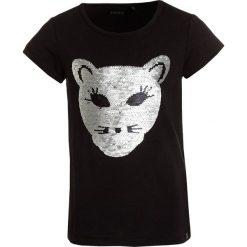 T-shirty chłopięce z nadrukiem: IKKS Tshirt z nadrukiem black