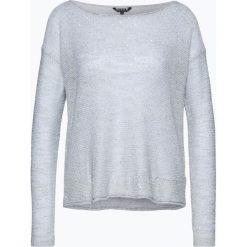 Review - Sweter damski, szary. Szare swetry klasyczne damskie marki Review, l, z tkaniny, z okrągłym kołnierzem. Za 139,95 zł.