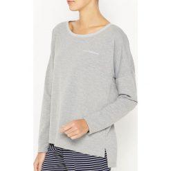 Bluza z moltonu. Szare bluzy męskie rozpinane marki La Redoute Collections, m, z bawełny, z kapturem. Za 132,26 zł.