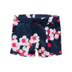 Spodnie niemowlęce: Krótkie spodnie w deseń japońskich kwiatów dla niemowlaka