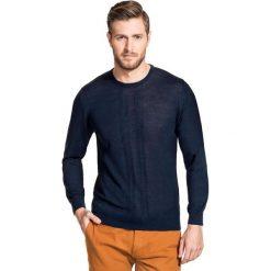 Sweter PIETRO PW 15-45SR. Niebieskie swetry klasyczne męskie Giacomo Conti, m, z kaszmiru, z klasycznym kołnierzykiem. Za 199,00 zł.