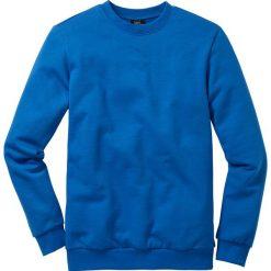Bluza dresowa bonprix lazurowy niebieski. Niebieskie bejsbolówki męskie bonprix, l, z dresówki. Za 44,99 zł.