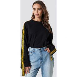 Cheap Monday Bluza Further Sweat - Black. Czarne bluzy rozpinane damskie Cheap Monday, w paski, z długim rękawem, długie. Za 222,95 zł.