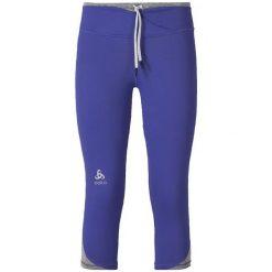 Odlo Spodnie Tech. Tights 3/4 HANA  Niebieski r. S (347731S). Niebieskie spodnie dresowe damskie Odlo, s. Za 82,13 zł.
