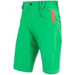 Sensor Luźne, Męskie Spodenki Rowerowe Cyklo Charger  Green. Zielone odzież rowerowa męska marki Sensor, eleganckie. W wyprzedaży za 249,00 zł.