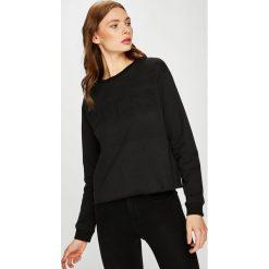 Guess Jeans - Bluza. Szare bluzy rozpinane damskie Guess Jeans, l, z bawełny, bez kaptura. Za 249,90 zł.