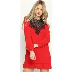 Sukienki hiszpanki: Czerwona Sukienka Apparent