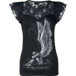 Spiral Enslaved Angel Koszulka damska czarny. Czarne bluzki koronkowe marki bonprix. Za 79,90 zł.