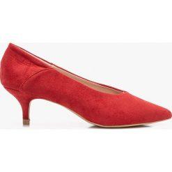 Answear - Czółenka Moow. Szare buty ślubne damskie marki ANSWEAR, z gumy. W wyprzedaży za 69,90 zł.