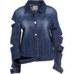 Each x Other BANDS Kurtka jeansowa medium blue. Niebieskie bomberki damskie Each x Other, z bawełny. W wyprzedaży za 578,70 zł.