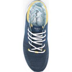 Pepe Jeans - Buty dziecięce. Szare buty sportowe dziewczęce Pepe Jeans, z jeansu. W wyprzedaży za 99,90 zł.