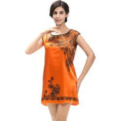 Koszule nocne i halki: Koszula nocna w kolorze pomarańczowym