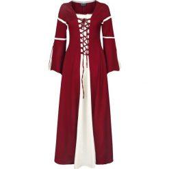 Leonardo Carbone Kleid mit Trompetenärmeln Sukienka czerwony/biały. Białe sukienki Leonardo Carbone, na imprezę, l. Za 264,90 zł.