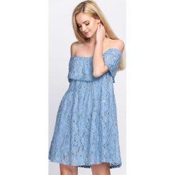 Niebieska Sukienka Super Natural. Niebieskie sukienki letnie marki Born2be, m. Za 84,99 zł.