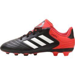 Buty sportowe chłopięce: adidas Performance COPA 18.4 FXG Korki Lanki black/white/reacor
