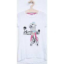 Blukids - Top dziecięcy 134-164 cm. Fioletowe bluzki dziewczęce bawełniane marki OLAIAN, sportowe. W wyprzedaży za 34,90 zł.