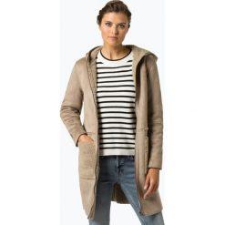 Esprit Casual - Płaszcz damski, beżowy. Brązowe płaszcze damskie pastelowe Esprit Casual, l, ze skóry, casualowe. Za 599,95 zł.