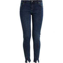 2ndOne PILL Jeansy Slim Fit smoke blue. Niebieskie jeansy damskie 2ndOne, z bawełny. W wyprzedaży za 203,40 zł.