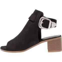 Sandały damskie: New Look POSER Sandały z cholewką black