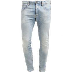 GStar 3301 SLIM Jeansy Slim Fit nippon stretch denim. Niebieskie jeansy męskie G-Star. W wyprzedaży za 363,35 zł.