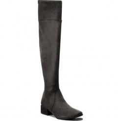 Muszkieterki TAMARIS - 1-25538-29 Anthracite 214. Szare buty zimowe damskie Tamaris, z materiału, na obcasie. W wyprzedaży za 209,00 zł.