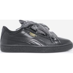 Puma - Buty Basket Heart. Szare buty sportowe damskie Puma, z gumy. W wyprzedaży za 299,90 zł.