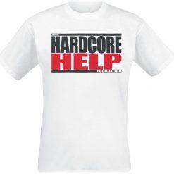 Hardcore Help Foundation Classic Logo T-Shirt biały. Białe t-shirty męskie Hardcore Help Foundation, xl. Za 79,90 zł.
