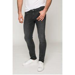 Lee - Jeansy Luke. Czarne jeansy męskie slim Lee, z bawełny. W wyprzedaży za 239,90 zł.