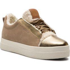 Sneakersy GANT - Amanda 17531849 Gold G26. Żółte sneakersy damskie marki GANT, z materiału. Za 479,90 zł.