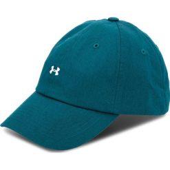 Czapka z daszkiem UNDER ARMOUR - Favorite Logo Cap 1306295-716 Zielony. Zielone czapki z daszkiem damskie Under Armour, w paski, z bawełny. Za 79,95 zł.