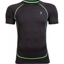Koszulka treningowa męska TSMF601 - czarny - Outhorn. Czarne odzież termoaktywna męska Outhorn, m, z materiału. W wyprzedaży za 39,99 zł.
