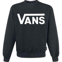 Vans Classic Crew Bluza czarny/biały. Białe bluzy męskie rozpinane marki Vans, xl, z nadrukiem. Za 244,90 zł.