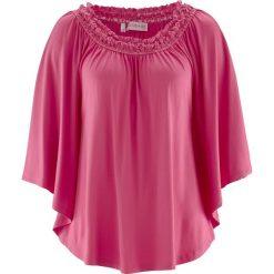 Tunika z kolekcji Maite Kelly, krótki rękaw bonprix różowy. Czerwone tuniki damskie bonprix, z krótkim rękawem. Za 59,99 zł.